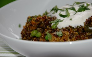 chicken and quinoa pilaf