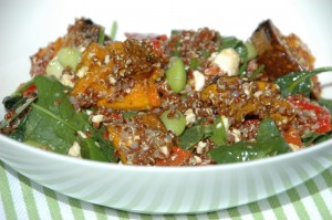 pumpkin and quinoa salad
