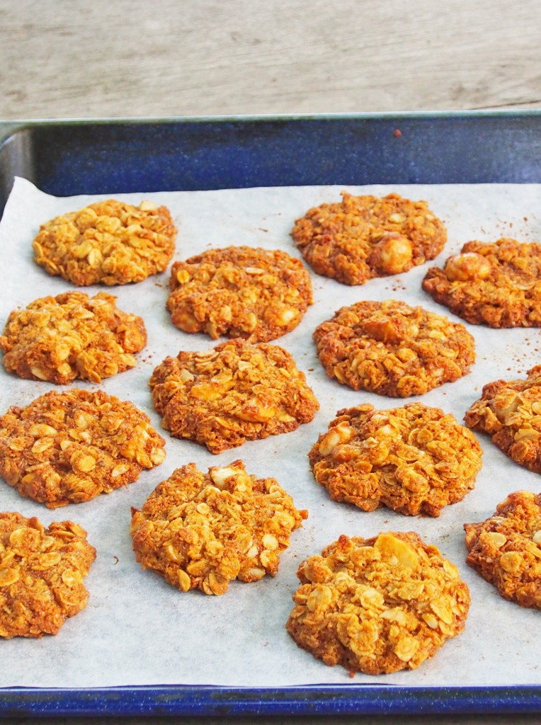 freshly baked anzacs...