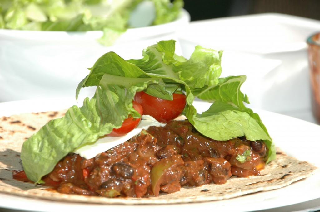 black bean burritos 2