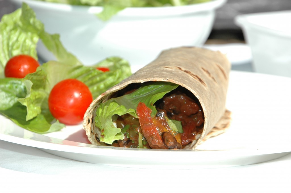 black bean burritos 6