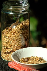 Fig and Hazelnut Toasted Muesli