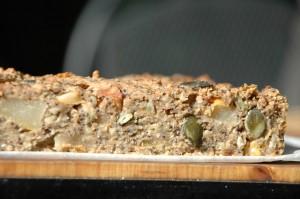 seedy pear cake