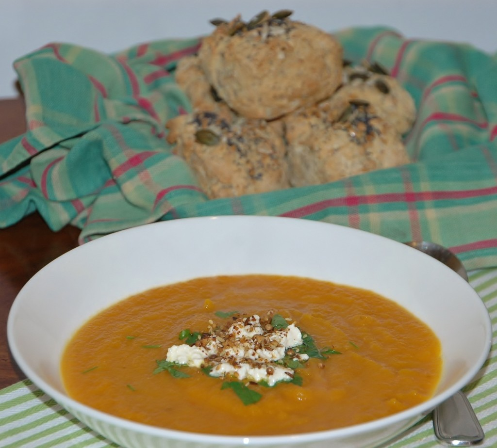 carrot and red lentil soup