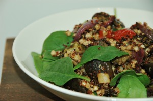 quinoa and buckwheat salad