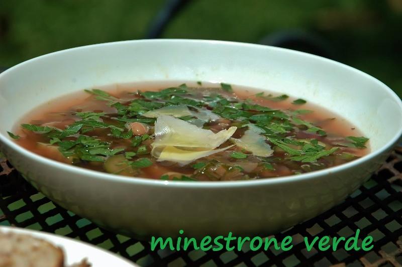 minestrone verde