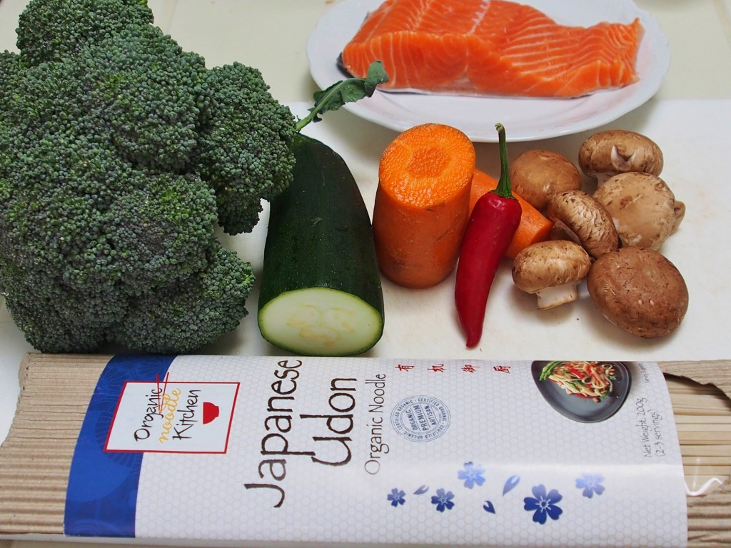 salmon noodle soup ingredients