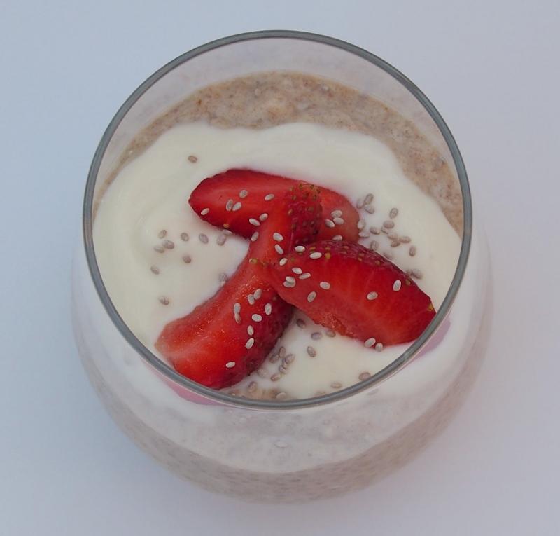 chia breakfast puds