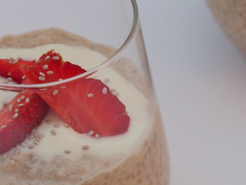 chia breakfast puddings
