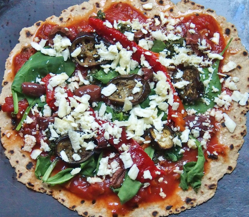 10 minute pizza