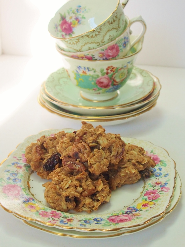 chocolate pecan raisin biscuits