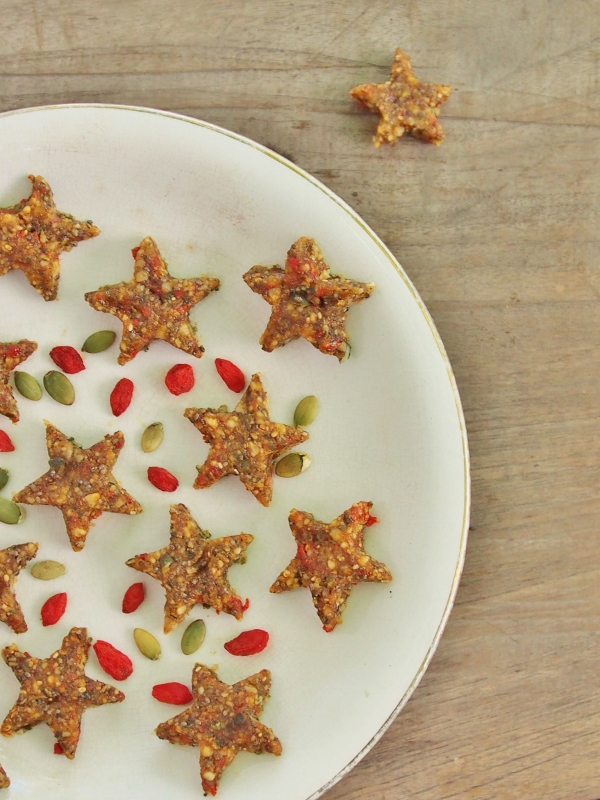 raw Christmas stars