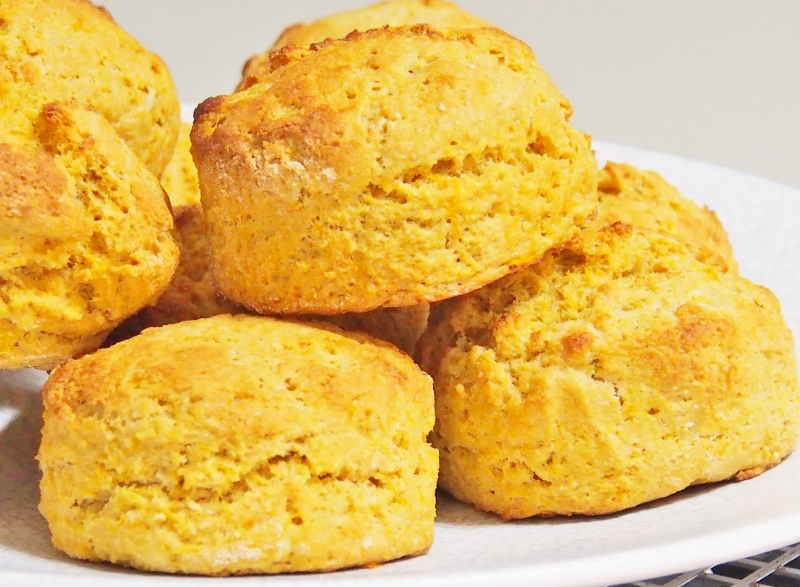 Flo Bejelke-Petersen pumpkin scones
