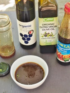 balsamic and pomegranate dressing