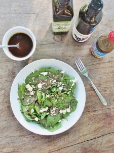 Spinach and Seeds Salad