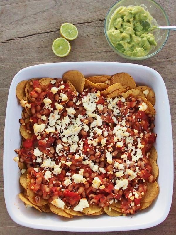 healthier nachos