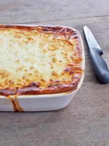 turkey and zucchini lasagne