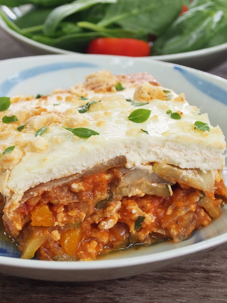 turkey and zucchini lasagne