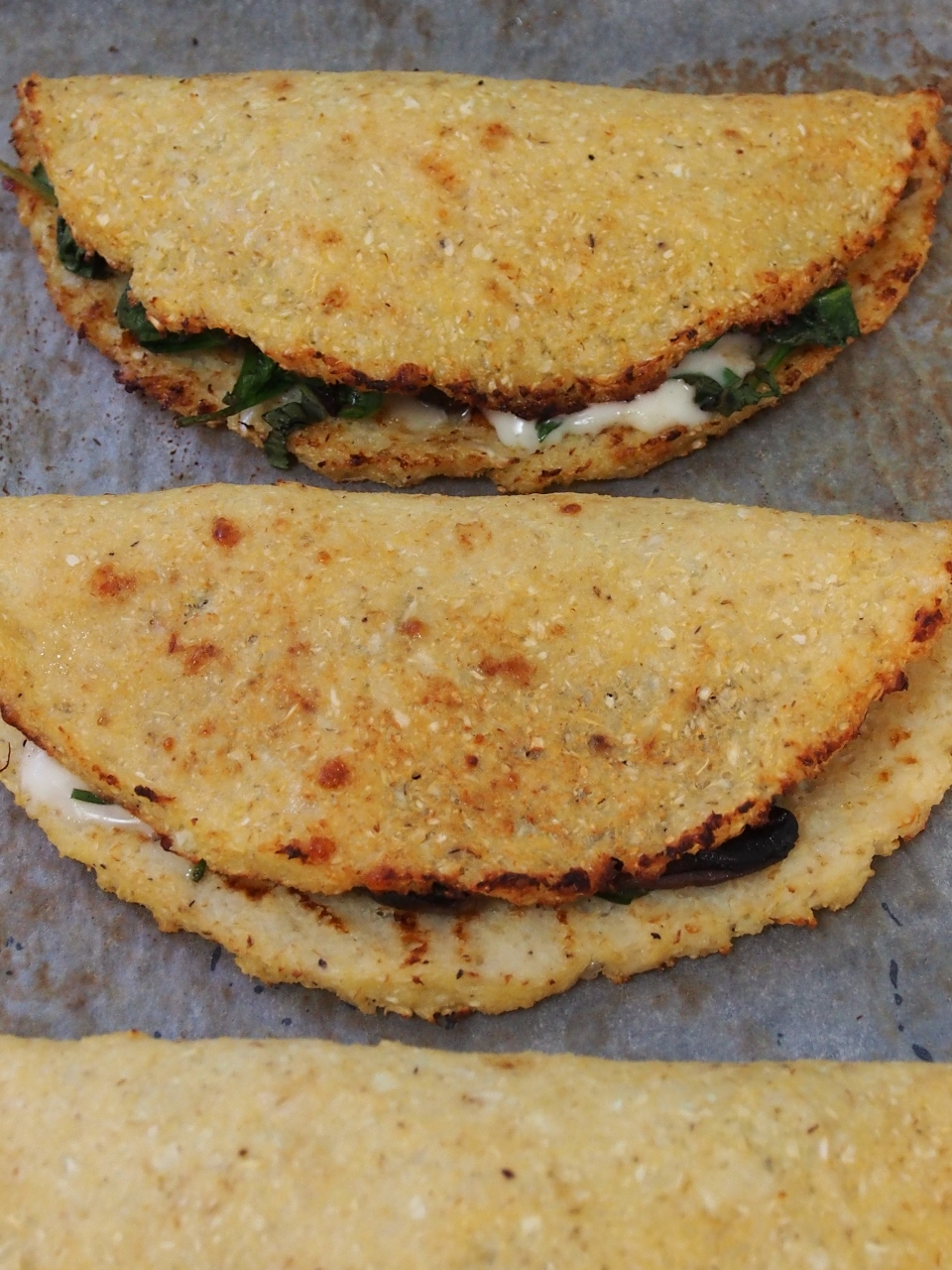 cauliflower calzone