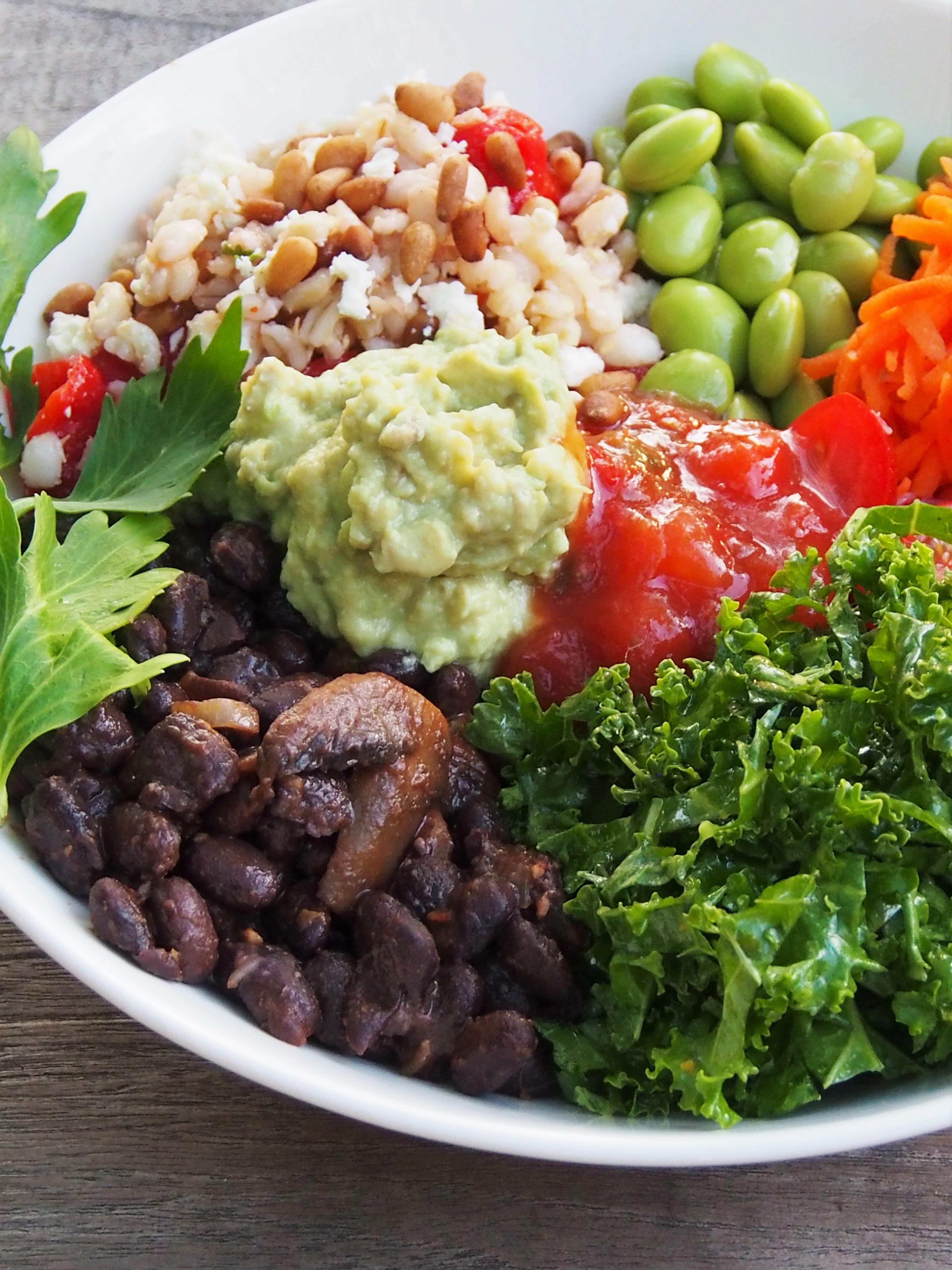 Black Bean Burrito Bowl | Healthy Home Cafe