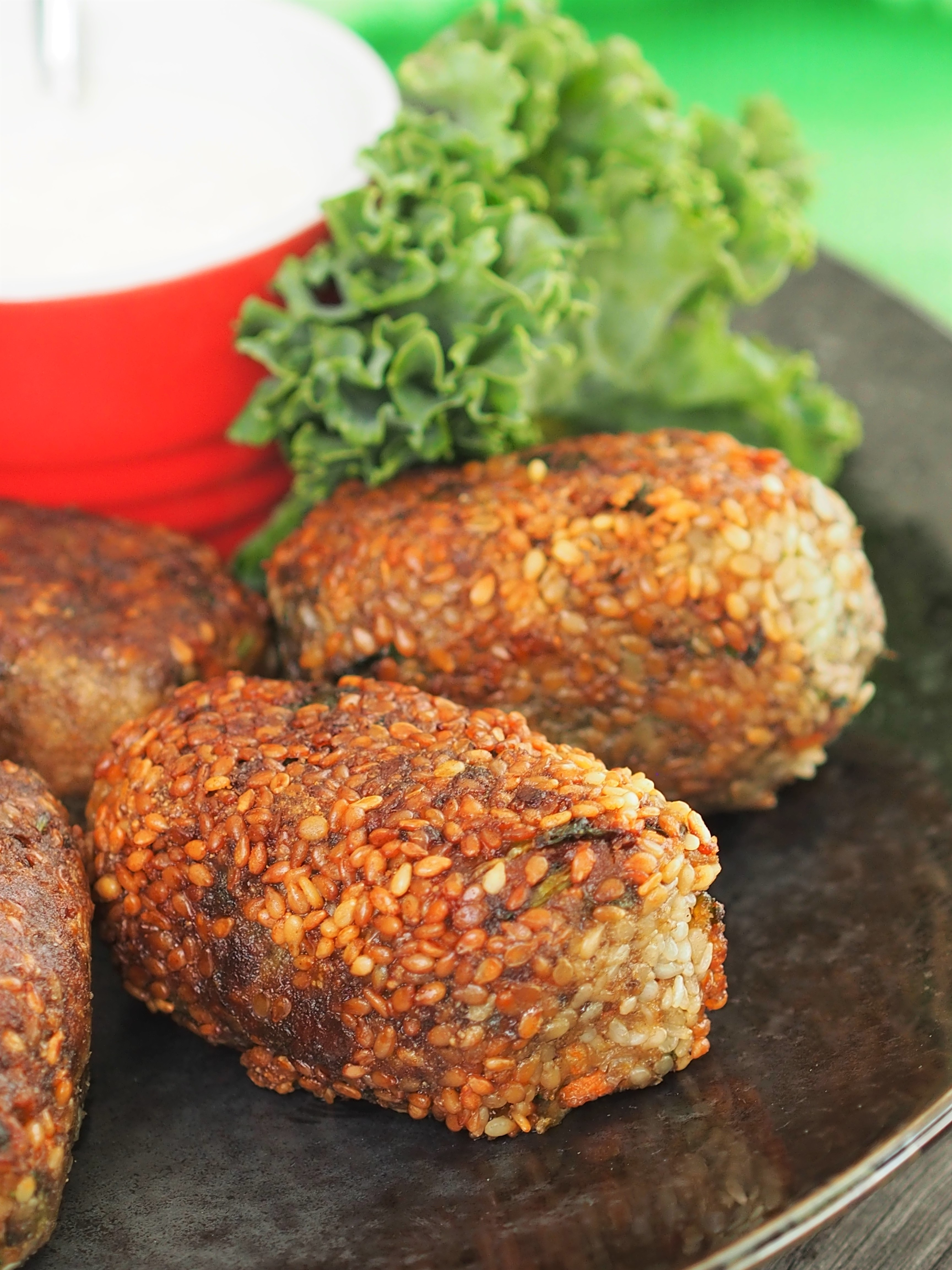 Carrot and Zucchini Croquettes | Healthy Home Cafe